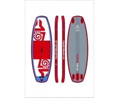 2017 INFLATABLE SUP 95 X 36 X 4.75 SUP POLO RED