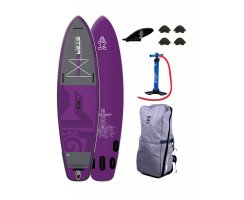 2018 INFLATABLE SUP 110 x 34 x 6 RIVER CROSS OVER PURPLE