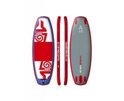 2018 INFLATABLE SUP 95x36x4.75 SUP POLO RED