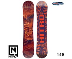 2018 Nitro Snowboard RIPPER YOUTH 149