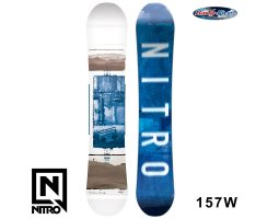 2018 Nitro Snowboard TEAM EXPOSURE WIDE GULLWING 157