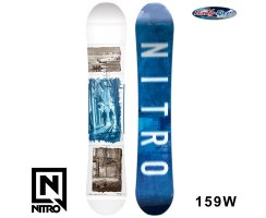 2018 Nitro Snowboard TEAM EXPOSURE WIDE GULLWING 159