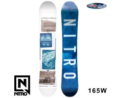 2018 Nitro Snowboard TEAM EXPOSURE WIDE GULLWING 165