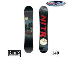 Nitro Board PRO ONE OFF Brandon Hobush 149 - 2017