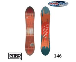 Nitro Board SWEET LEAF 146 - 2017