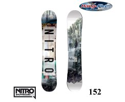Nitro Board TEAM EXPOSURE 152 - 2017