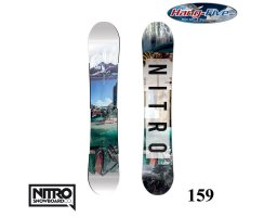 Nitro Board TEAM EXPOSURE GULLWING 159 - 2017