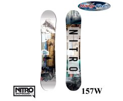 Nitro Board TEAM EXPOSURE WIDE GULLWING 157 - 2017
