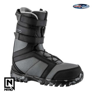 2018 Nitro Boot ROVER YOUTH ELS BLACK-CHARCOAL